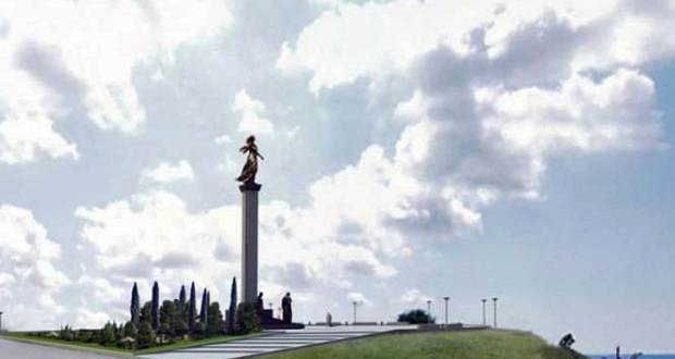 Памятник Примирения, о котором все еще спорят в Севастополе, установят в Керчи