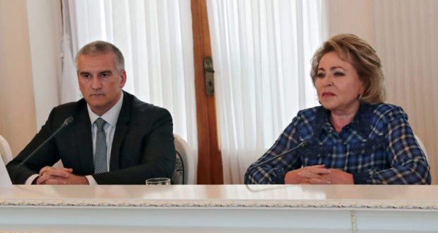 Валентина Матвиенко встретилась с лидерами национальных общин и религиозных объединений Крыма
