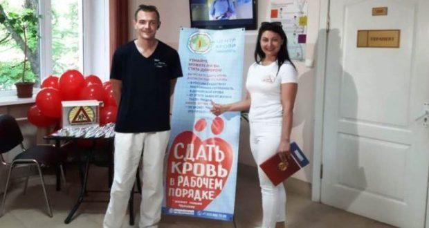 В Симферополе собирали кровь для пострадавших в ДТП детей