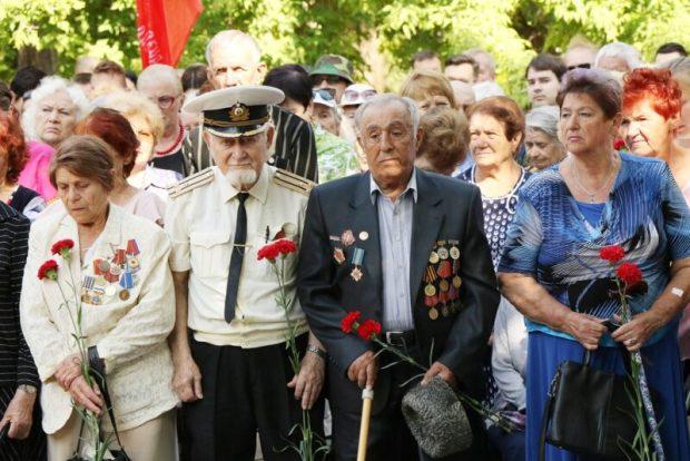 Симферополь отметил День партизан и подпольщиков