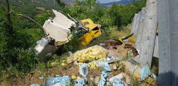 ДТП на дороге «Алушта – Феодосия». «Серпантин» не покорился грузовику «Iveco»