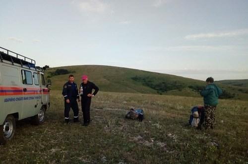 На плато Караби-Яйла заблудились туристы