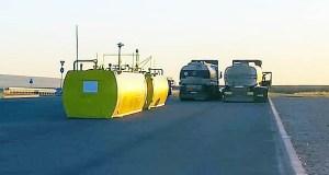 На открытых участках трассы «Таврида» установят временные мобильные автозаправки