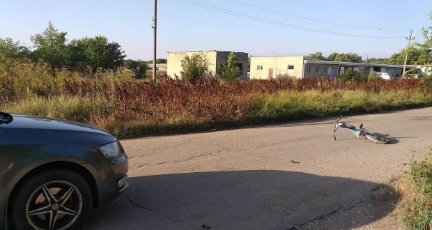 ДТП в Красногвардейском районе Крыма: пострадал несовершеннолетний велосипедист
