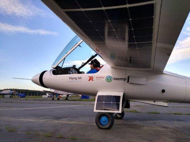 Федор Конюхов летит в Крым на самолете с солнечными батареями