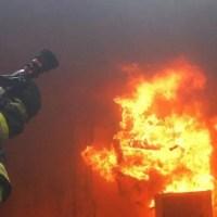Пожар в Симферополе: горела двухкомнатная квартира в многоэтажке