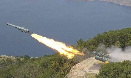 В Черном море – ракетные стрельбы фрегата «Адмирал Макаров» и берегового ракетного комплекса «Утёс»