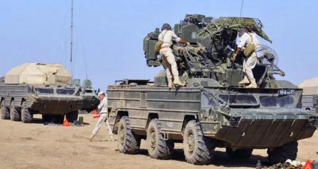 Боевые расчёты зенитно-ракетного полка Черноморского флота учатся прикрывать крымские аэродромы