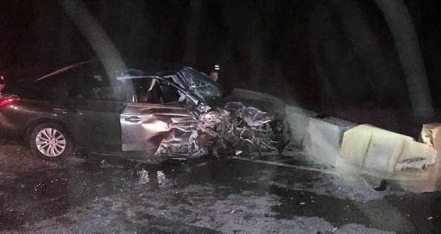 Стали известны подробности ночного ДТП на трассе «Таврида» с тремя пострадавшими