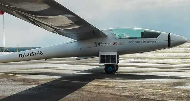 Уникальный самолет Федора Конюхова приземлился под Евпаторией