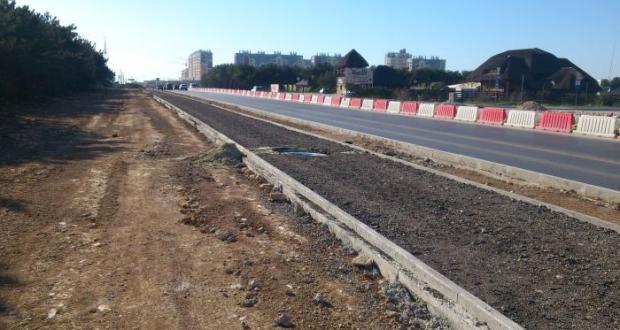 Странные в Севастополе подрядчики... Сорваны сроки реконструкции Камышового шоссе