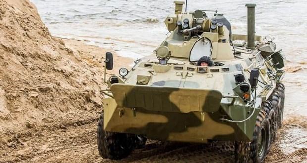 Учения морской пехоты Черноморского флота в Крыму