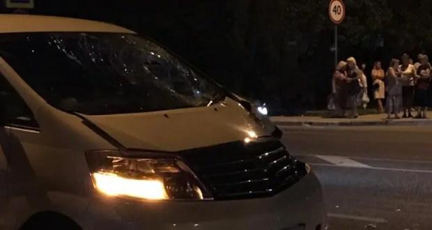 ДТП в Севастополе: водитель сбил пешехода и хотел сбежать с места ДТП