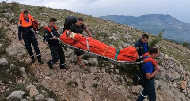 Выходные дни в Крыму - пять поисково-спасательных работах в горах