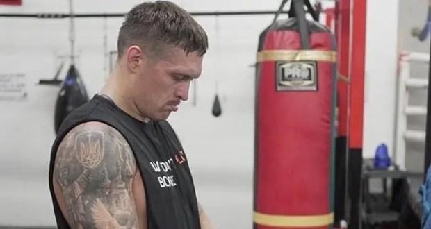 «Украинский крымчанин» боксер Александр Усик отказался от поединков против россиян