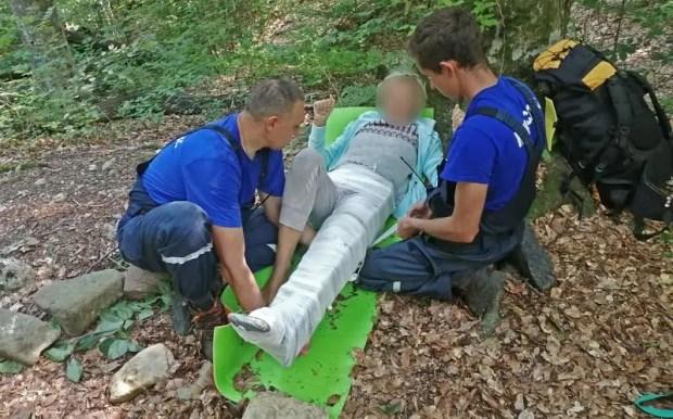 Подробности спасательной операции в крымском ущелье Хапхал