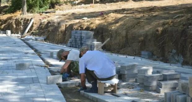 Работы по благоустройству парка «Учкуевка» выполнены на 80%