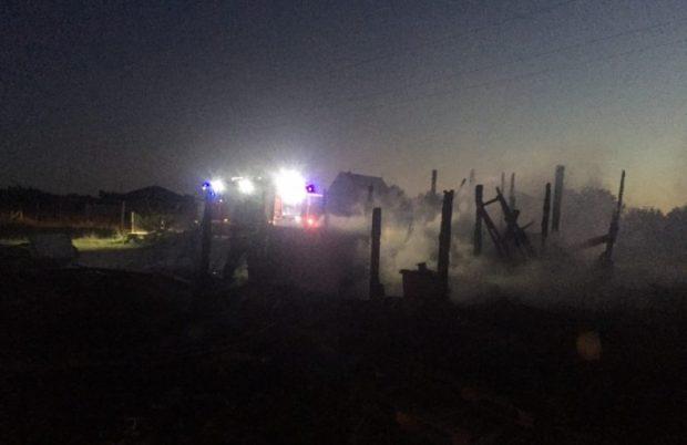 Пожар в Керчи - эвакуированы 6 человек