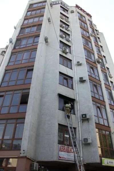 Ликвидировали пожар в многоэтажном жилом доме в Симферополе