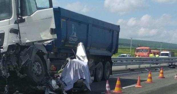 Смертельное ДТП на трассе «Таврида», погиб ребенок
