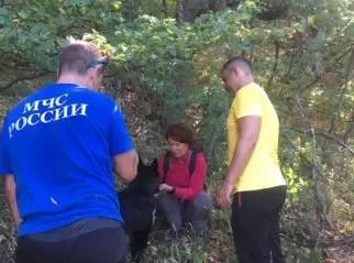 """Спасательная операция в районе горы Демерджи: женщина-туристка зашла """"не туда"""""""