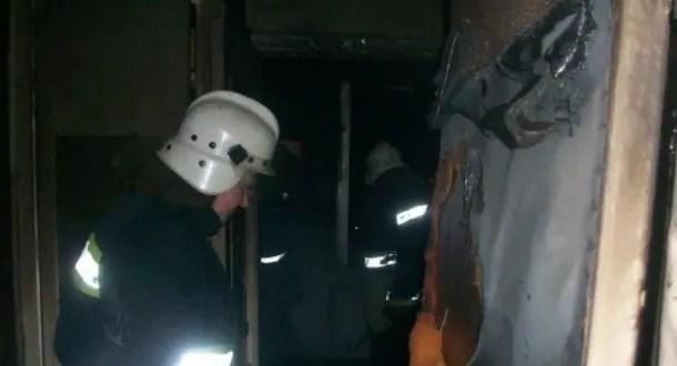 Ночной пожар в Севастополе: госпитализирована женщина, 18 человек эвакуировано