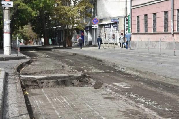 В Симферополе стартовал второй этап ремонта улицы Александра Невского