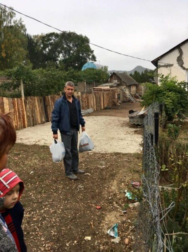Проект ОД «Доброволец» «Продуктовое обеспечение» - для тех, чья старость нуждается в поддержке