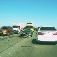 ДТП на трассе «Таврида»: пострадала женщина