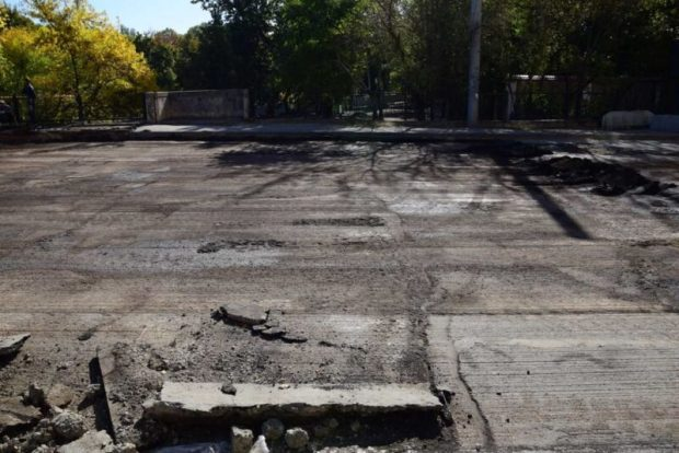В Симферополе начался капитальный ремонт моста на улице Толстого