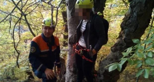 Спасательная операция в районе Долины Привидений - заблудились две женщины