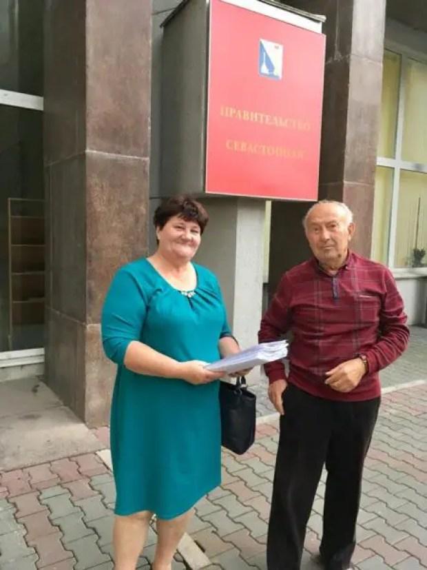 Активисты Севастопольского «Добровольца» выступают за участие в Набсовете по реконструкции Большой Морской