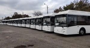«Крымтроллейбус» получил 44 новых автобуса