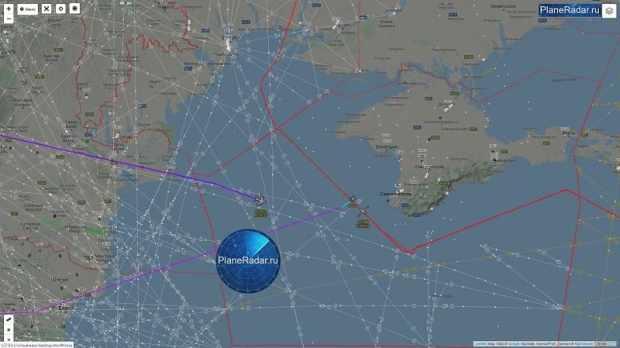 Над Черным морем «засветился» стратегический бомбардировщик ВВС США
