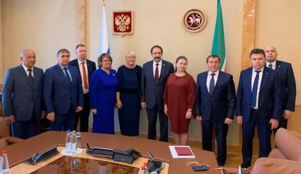Глава правительства Крыма Юрий Гоцанюк встретился с президентом и премьером Татарстана