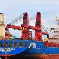 В Черное море вошел сухогруз с катерами «Island» США для Украины