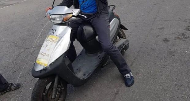 Крымская полиция установила водителя мопеда, скрывшегося с места ДТП