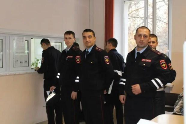 Симферопольские инспекторы ГИБДД стали донорами