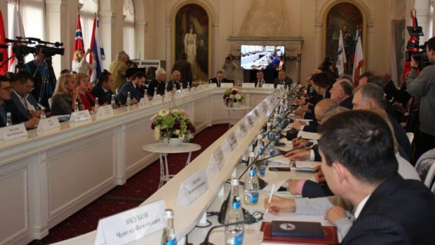 В Ливадийском дворце открылась конференция «Крым в современном международном контексте»