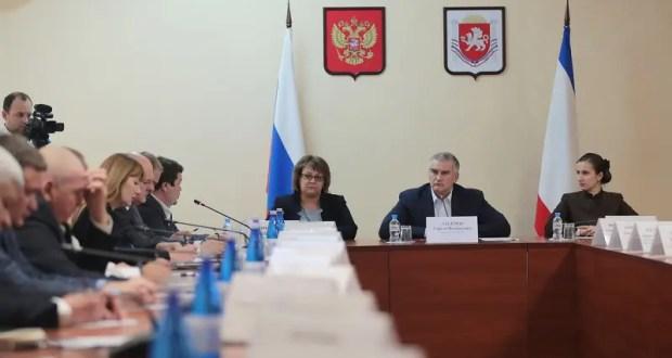 Сергей Аксёнов обсудил проблемные вопросы здравоохранения с главврачами медучреждений Крыма