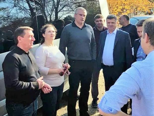 Глава Крыма проверил дороги Симферополя