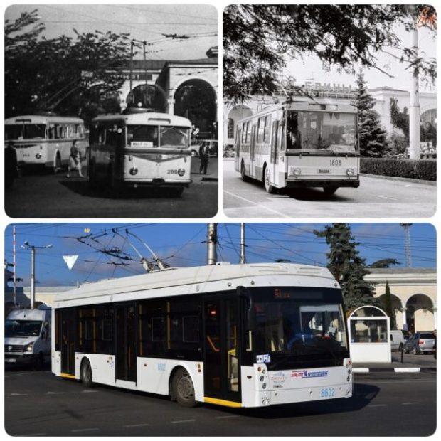 Предприятию «Крымтроллейбус» сегодня исполнилось 60 лет
