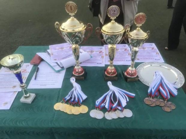 В Севастополе состоялся II спортивно-патриотический фестиваль для кадет