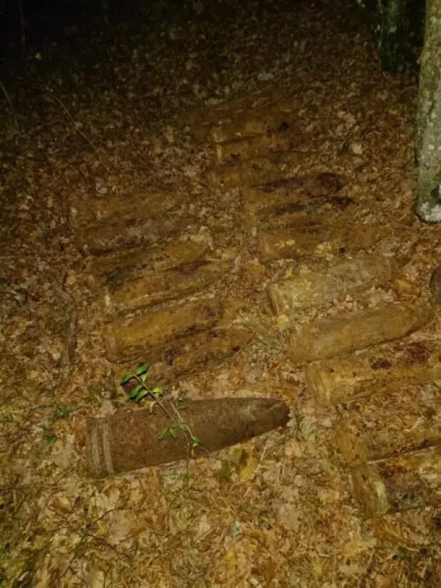 """Под Севастополем, рядом со строящимся участком трассы """"Таврида"""", обнаружили склад боеприпасов"""