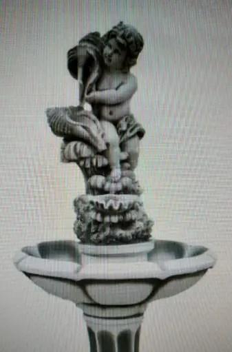 Преступление года? В Керчи 19-летняя барышня украла... статую мальчика с рыбкой в руках