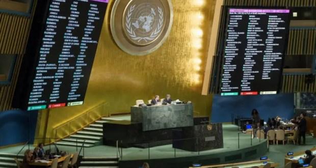 В ООН приняли очередную антироссийскую резолюцию по «правам человека в Крыму»