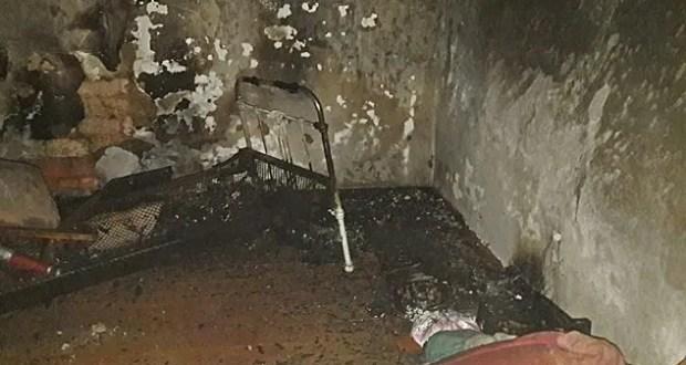 Пожар в селе Кировское - горел жилой дом. Причина - печь