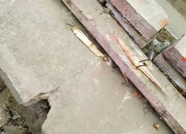 Штормовой ветер сорвал крышу со школы в Джанкое