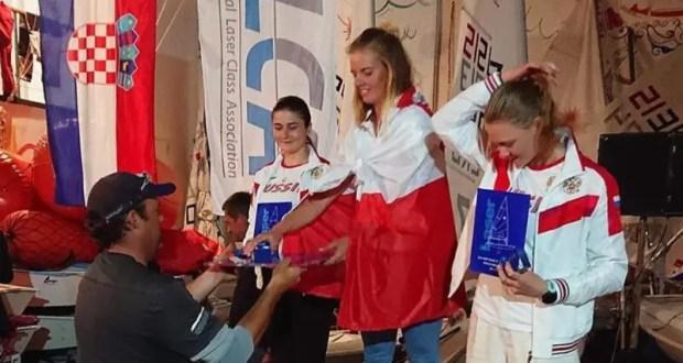 Валерия Ломатченко из Севастополя - призёр первенства мира в классе яхт «Лазер-радиал»