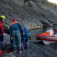 В Крыму погиб турист - сорвался со скалы